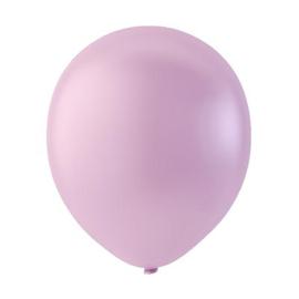 Roze ballonnen om te vullen met helium - Metallic - glans ballonnen - 30 cm - 5stk