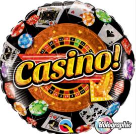 Casino ! - FolieBallon - 18 Inch/45cm