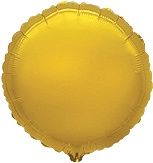 Rond - Goud - Folie Ballon - 18 Inch/45 cm