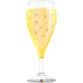 Champagne glas- Folie ballon - 39 Inch / 97,5 cm