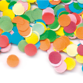 Confetti - Div. Kleuren - Papier / Klein - 25 gr.