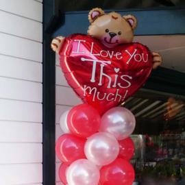 I Love You This Much - Folie Ballon - XXL - 24Inch/ 61cm
