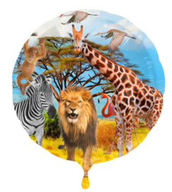 Jungle / Safari - Folie ballon -18 inch/45cm