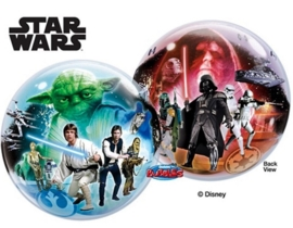 Disney - Star Wars - 2 kanten bedrukt - Bubbles Ballon - 22Inch/56cm