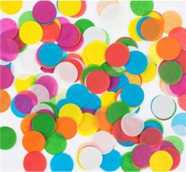 Confetti  - Rond - Mix aan kleuren - 2,5cm/20 gr.