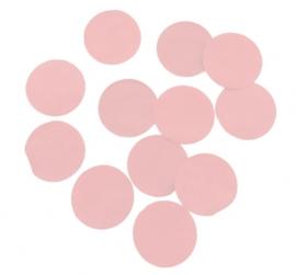Confetti - Baby Roze - Papier- 2 cm / 15 gr.