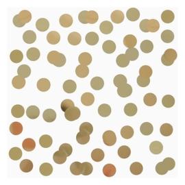 Confetti - My Little Day - Goud - Folie  -2,5 cm / 15 gr.