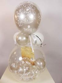 Cadeau - Kado Ballon - Huwelijk - Just Married -  Latex Top Ballon