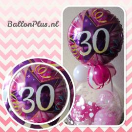 Cadeau - Kado Ballon - 30 - Happy Birthday  - Folie Topballon