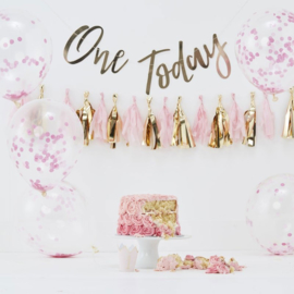 One Today - Roze Cake Smash set