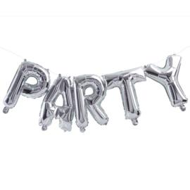 Party  - Zilver-  folie ballonnen set - 35 cm