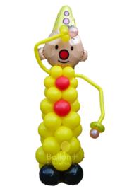 Ballonnen Pilaar - Bumba- Geel Zwart (Voorbeeld)