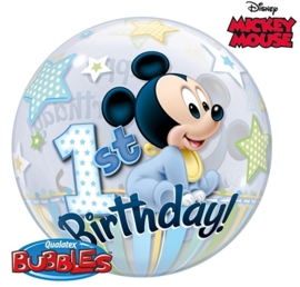 1st Birthday - Disney Mickey Mouse - 22 inch/56cm