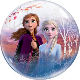 Disney Frozen II -Anna/ Elsa - Bubbles Ballon - 22 Inch/56cm