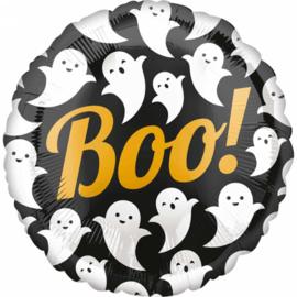 Halloween - Spookjes - Boo! - Folie Ballon - 17 Inch./43 cm