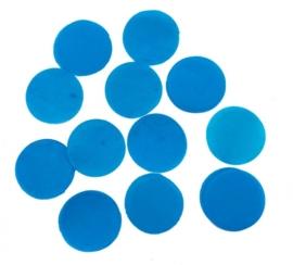 Confetti - Blauw - Papier- 2 cm / 15 gr.