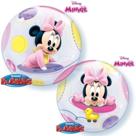 Disney Minnie - Baby - Bubble Ballon - 22Inch/56cm