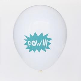 My Little Day - Pow!!! - Latex Ballonnen - 12 Inch. / 30 cm