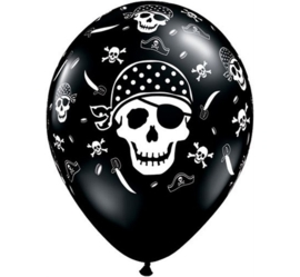 Pirate Skull - 11 inch