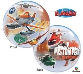Disney  - Planes - Fire & Rescue  -Bubbles ballon - 2 kanten- 22 inch/56cm