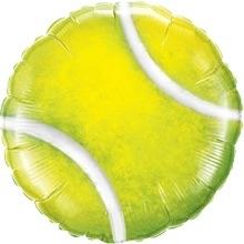 Tennisbal - Geel - Folie ballon - 18Inch/46cm