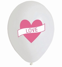 My Little Day- Love - Hart - latex-ballonnen- 12 Inch - 30cm.