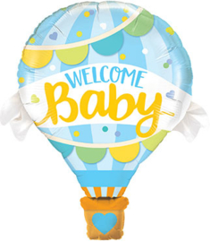Welcome Baby - Luchtballon - Folie Ballon - 42 Inch/107 cm