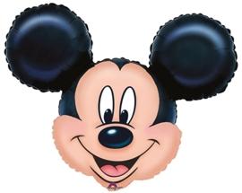 Disney - Mickey Mouse - - Hoofd - Folie Ballon XXL - 27 inch/69cm