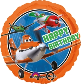 Disney  - Planes - Happy Birthday - folie ballon - 18 inch/45cm