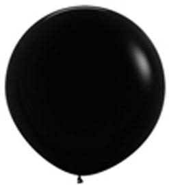 Grote Latex Ballon - Zwart - 36 Inch / 90 cm