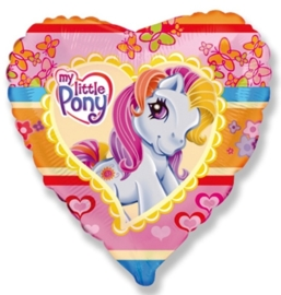 My little Pony - Hart - Folie Ballon - 18 Inch/ 45 cm