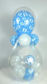 Cadeau - Kado Ballon - Baby - It's a Boy - Latex Topballon