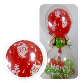 Cadeau - Kado Ballon - Merry Christmas - Latex Top ballon