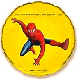 Spiderman - Goud - Folie Ballon - 18 Inch/45cm