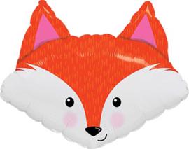 Fox / Vos - Kop - XXL - Folie Ballon - 33Inch / 84 cm