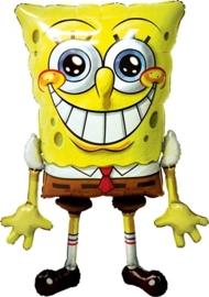 Spongebob Airwalker  46 inch (117cm)hoog en 29 inch breed.
