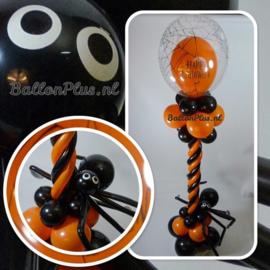 Halloween - Ballonnen Pilaar - Happy Halloween