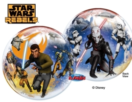 Disney - Star Wars Rebels - 2 kanten bedrukt - Bubbles Ballon - 22 inch/56cm