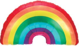 Regenboog / Rainbow  - XXL Folie Ballon - 36 Inch./91 cm