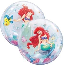 Disney Ariel -   Kleine Zeemeermin Bubbles Ballon - 22 inch/56cm