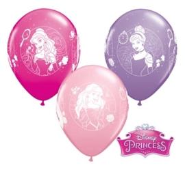 Disney Princess - Latex Ballonnen - 11 Inch/27,5cm