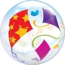 Vliegers - Div. Kleuren - Bubbles Ballon - 22Inch / 56 cm