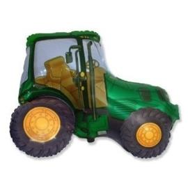 Tractor -  Groen - XL Folie Ballon - 24 inch / 60cm