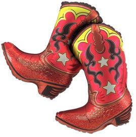 Cowboy Laarzen - Dancing Boots  - XXL Folie Ballon - 36 Inch / 91 cm