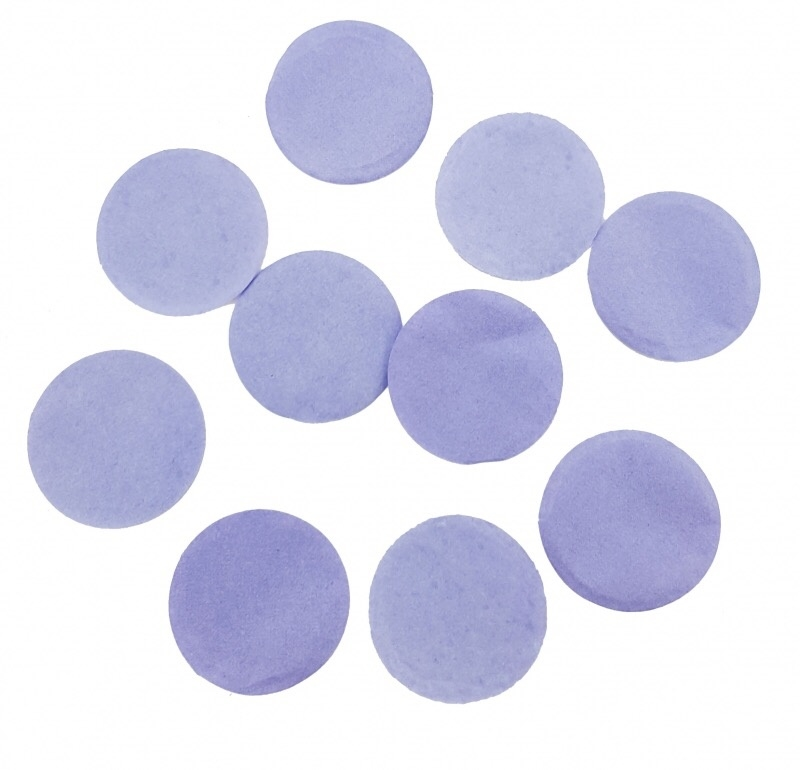 Confetti - Lila - Papier- 2 cm / 15 gr.