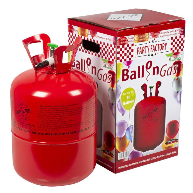 Verkoop Helium tank voor 50 ballonnen(excl. Ballonnen!)