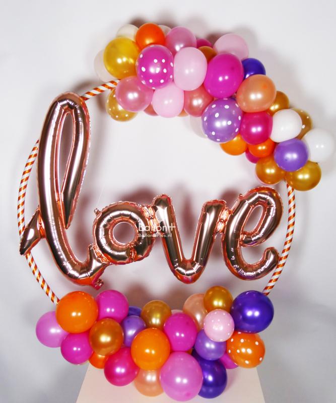 Love Hoepel - Rose Goud - verschillende kleuren
