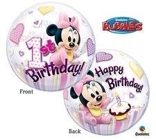 1st Birthday - Disney Minnie Mouse - 22 inch/56cm
