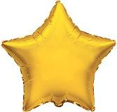 Ster - Goud - Folie Ballon - 29 Inch/73cm