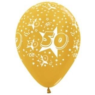 Gouden Bruiloft Ballonplus Nl